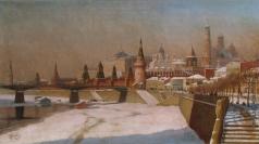 Гермашев М. М. Вид на Кремль