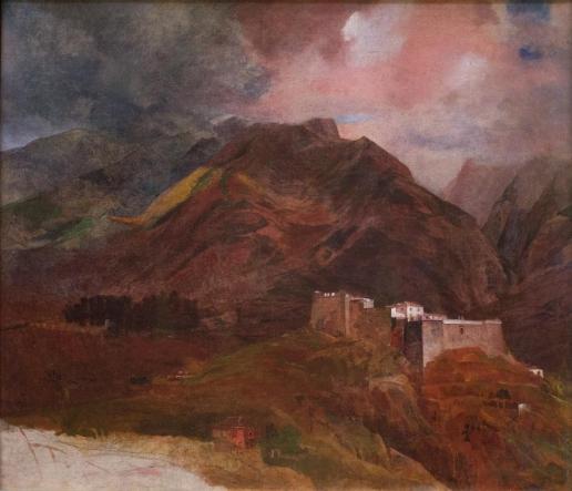 Брюллов К. П. Вид форта Пику на острове Мадейра