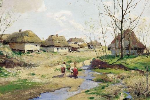 Васильковский С. И. Весенний день на Украине