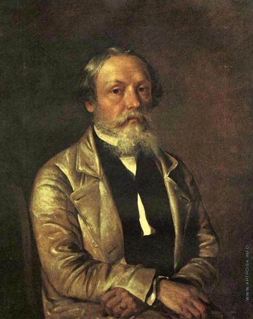 Хруцкий И. Ф. Автопортрет