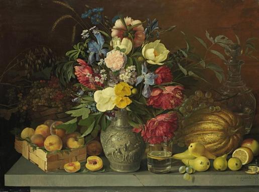 Хруцкий И. Ф. Цветы и плоды
