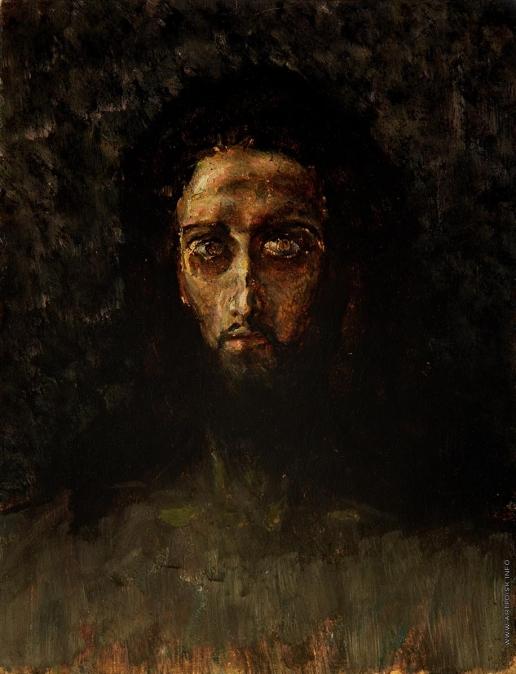 Врубель М. А. Голова Христа