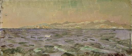 Врубель М. А. Остров Эльба. Тирренское море