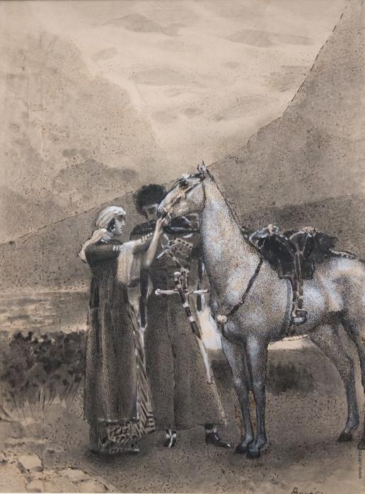 Врубель М. А. Прощание Зары с Измаилом
