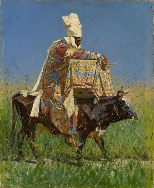 Верещагин В. В. Киргизка