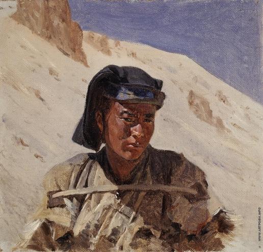 Верещагин В. В. Мусульманин шиитской секты в Гималаях
