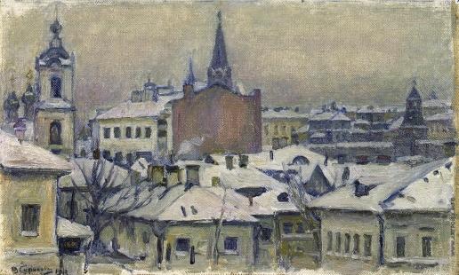 Суриков В. И. Вид на Кремль