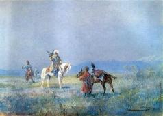Каразин Н. Н. Соколиная охота