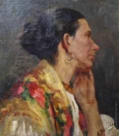 Ковалевская З. М. Портрет русской женщины