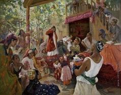 Ковалевская З. М. Представление сына (Крещение)