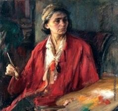 Беньков П. П. Портрет художницы Зинаиды Ковалевской