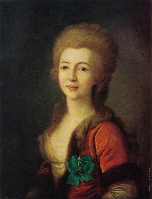 Левицкий Д. Г. Портрет Е.А. Воронцовой