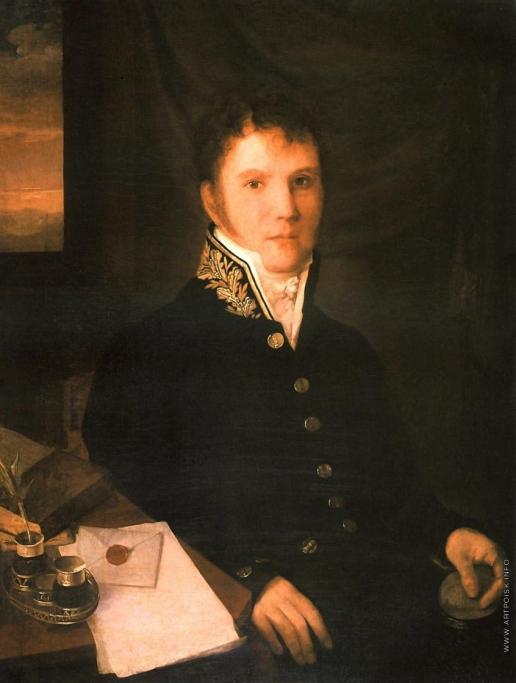 Венецианов А. Г. Портрет чиновника