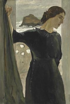 Серов В. А. Портрет Марии Цетлин
