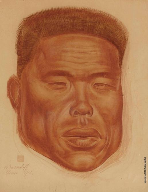 Яковлев А. Е. Портрет китайского мужчины