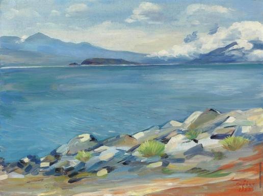 Сарьян М. С. Озеро Севан