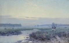 Крыжицкий К. Я. Раннее утро в полях