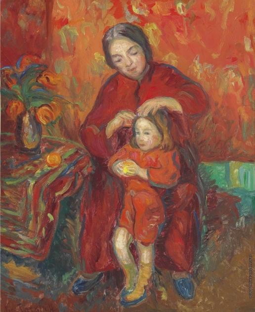 Тархов Н. А. Мать и дитя