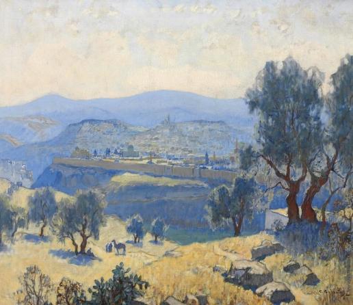 Горбатов К. И. Иерусалим