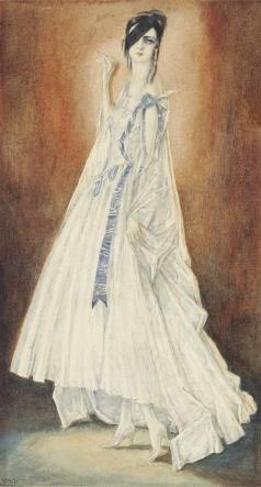 Иванов П. П. Портрет Елены Курбской, жены художника