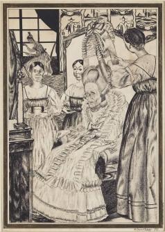 Шухаев В. И. Иллюстрация к «Пиковой даме»