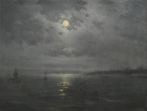 Дживанян М. Константинополь в лунную ночь