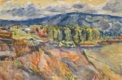 Лентулов А. В. Жигулевские горы
