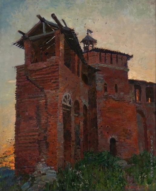 Абакумов М. Г. Коломна (Старые стены)