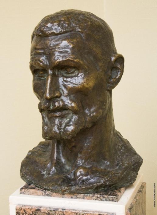 Коненков С. Т. Портрет скрипача Г.Ф. Ромашкова