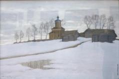 Бялыницкий-Бируля В. К. В конце зимы