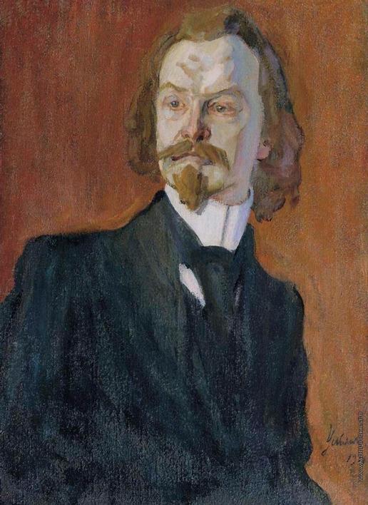 Ульянов Н. П. Портрет поэта К.Д. Бальмонта