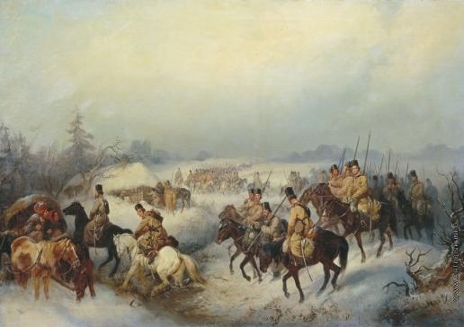 Филиппов К. Н. Казаки в походе