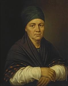 Угрюмов Г. И. Портрет А.М. Серебряковой