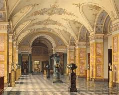 Ухтомский К. А. Зал IV библиотеки