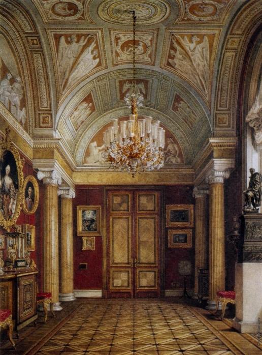 Ухтомский К. А. Кабинет мозаичных картин (кабинет Кваренги)