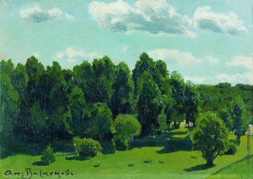 Васнецов А. М. Летний пейзаж