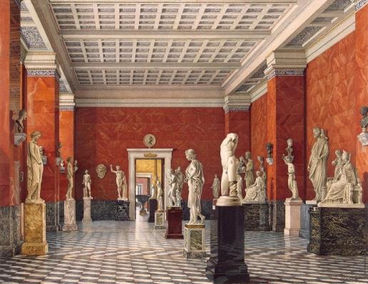 Ухтомский К. А. Зал греческой скульптуры