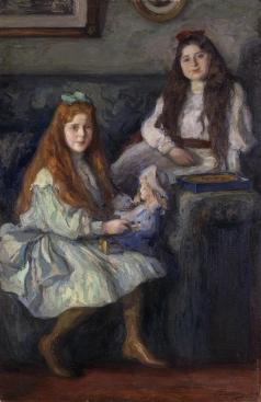 Пастернак Л. О. Портрет дочерей фабриканта Высоцкого