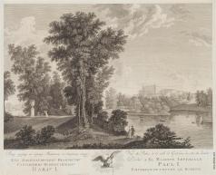 Ческий И. В. Вид дворца в Гатчине со стороны сада