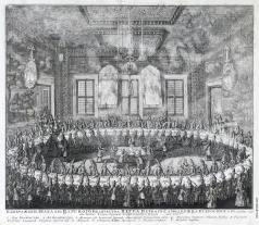 Зубов А. Ф. Свадьба Петра I и Екатерины I 19 февраля 1712 года