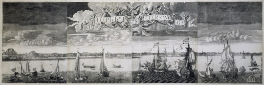 Зубов А. Ф. Панорама Санкт-Петербурга