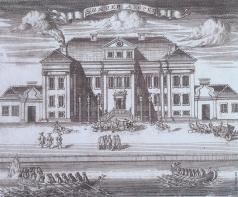 Зубов А. Ф. Зимний дворец Петра I