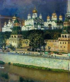 Васнецов А. М. Московский Кремль. Соборы