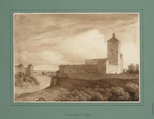 Кюгельген К. Древняя крепость Нарвы