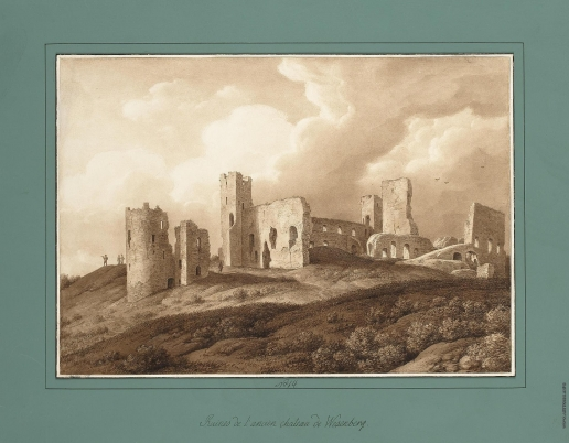 Кюгельген К. Руины старого замка