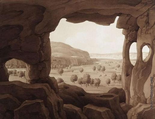 Кюгельген К. Вид з пещеры Инкермане