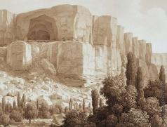 Кюгельген К. Вид скал близ Качи-Кальона