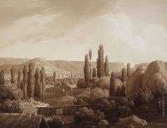 Кюгельген К. Вид на Каралезскую долину