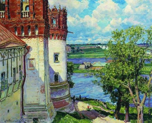 Васнецов А. М. Новодевичий монастырь. Башни