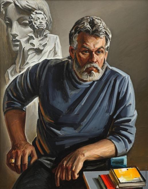 Данциг М. В. Портрет скульптора Анатолия Аникейчика